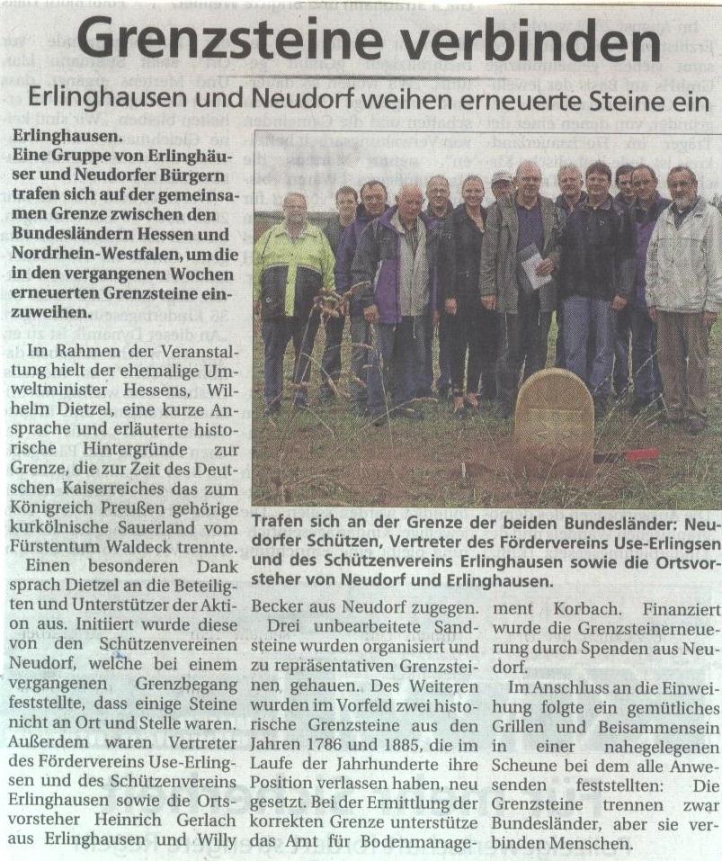 Grenzstein neu 2013